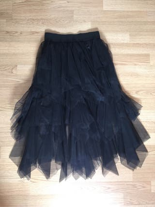 Falda de tul negra de segunda mano en la provincia de Málaga en WALLAPOP ab2cf39e4c5e