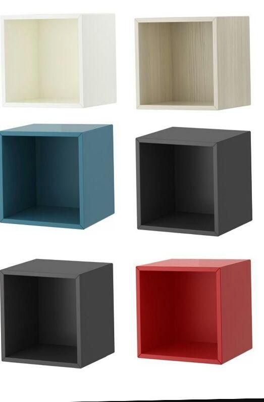 Valje Modulo De Pared Ikea De Color Azul De Segunda Mano Por 12 - Colores-ikea