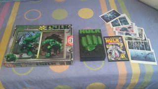 DVD Hulk Edicion Coleccionista+ Puzzles 500 Piezas