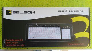 Teclado Multimedia Retroiluminado Belson