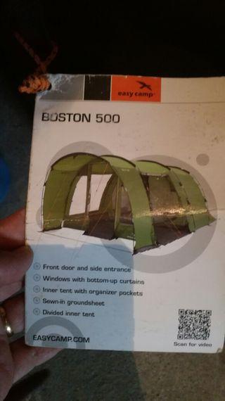 tienda de campaña Boston 500 easycamp