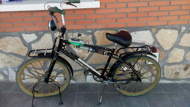 Bicicleta Motobecane vel over trail