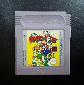 Juego Mario & Yoshi GAME BOY