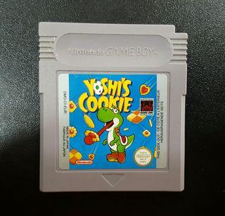 Juego Yoshi's Cookie GAME BOY