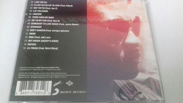 """Usher """"versus"""" cd"""