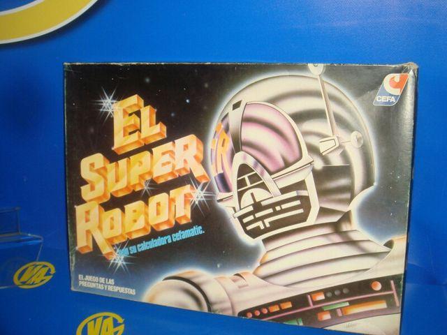 Juego de mesa el súper robot vintage completo
