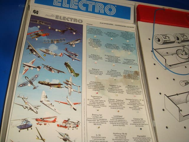 Juego de electro 720 vintage coleccionista