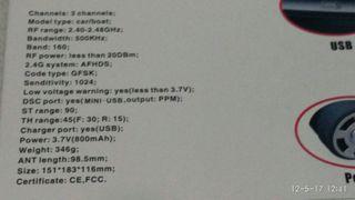 emisora flysky gt3c