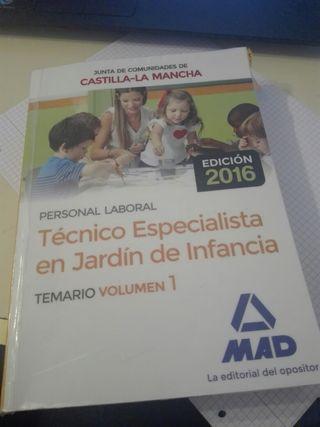 TECNICO JARDÍN DE INFANCIA