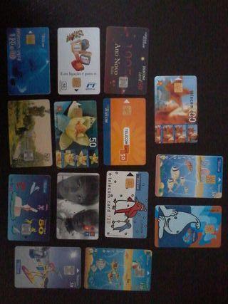 Portugal tarjetas de teléfono
