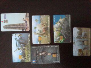 Cuba tarjetas de teléfono