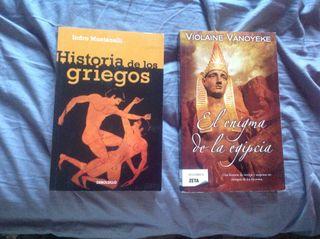 Dos libros egipto y grecia