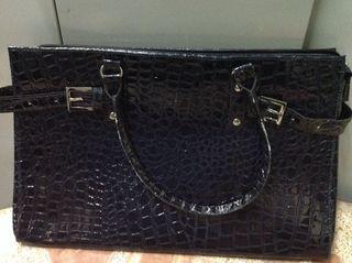 Bolso azul barato 2€