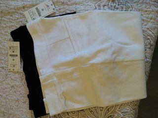 Pantalon beig stradivarius con etiqueta de segunda mano por