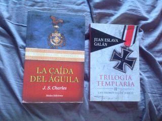 Dos libros Segunda Guerra Mundial y romanos