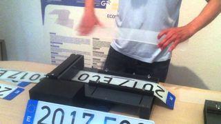 Matricula acrilicas coche moto 4x4 remolque