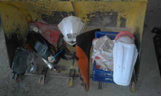 despiece moto de cross