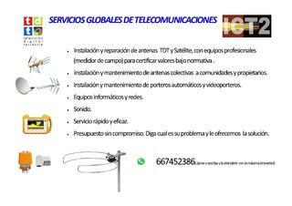 Antenista , telecomunicaciones, informática