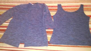 chaqueta y camiseta