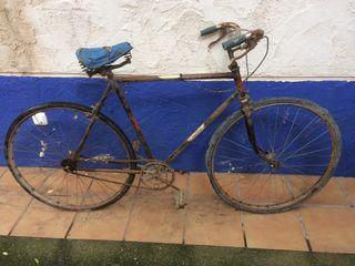 Bicicleta Orbea muy antigua, años 30 siglo XX