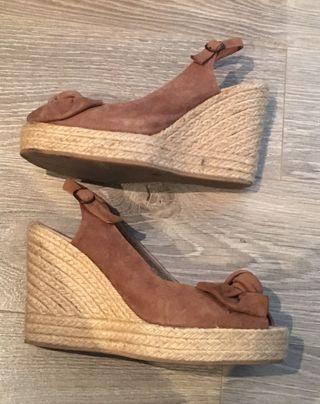 Sandalias cuñas