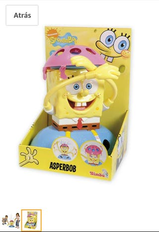 Asperbob juguete bob esponja totalmente nuevo