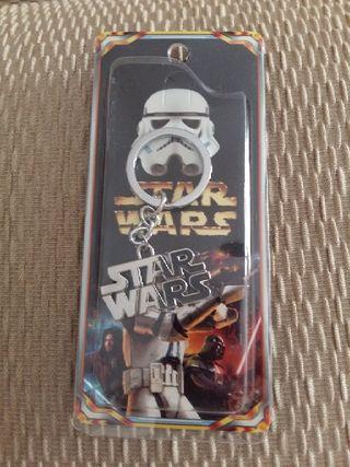 llavero metálico Star Wars nuevo