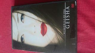 Dvd memorias de una geisha