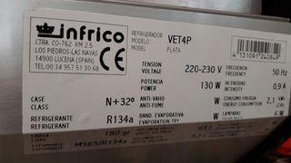 refrigerador infrico vet4p