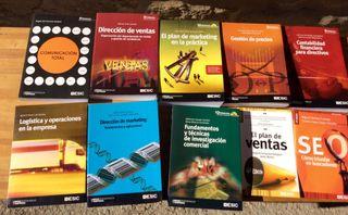 Varios libros Marketing