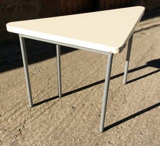 Mesa abatible lacada blanca