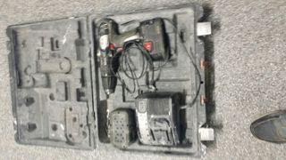 Taladradora de bateria Wruth