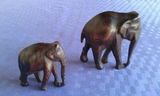 elefants de fusta
