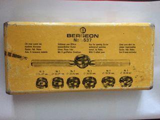 Llaves Bergeon originales para Rolex