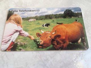 tarjeta telefonica Suecia Telia phonecard