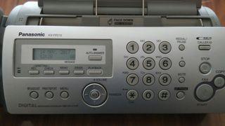 Teléfono Fax Panasonic KX-FP215 con contestador