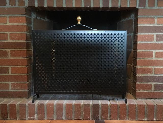 Protector chimenea