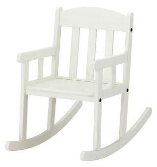 silla balalcin niños lacada en blanco