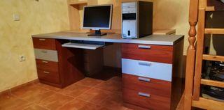 Mesa Despacho escritorio con cajonera (8x)