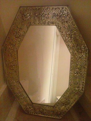 Espejo vintage Mexicano, sólo para decoración