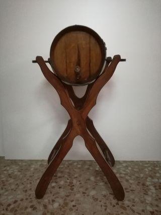 barril con pie