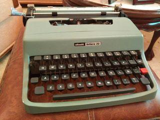 máquina escribir Olivetti Lettera 32