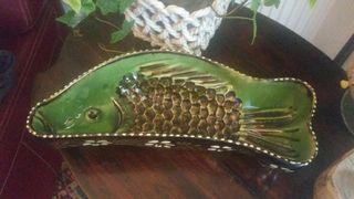 Bandeja en forma de pez vintage