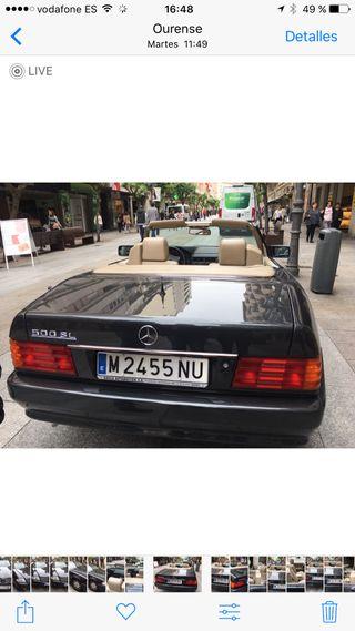 Mercedes-Benz SL 500 del 92