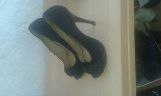 zapatos tacon poco uso