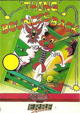 Juego Amstrad - Thing Bounces Back 1987