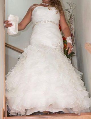 vestido de novia de segunda mano en pozuelo de alarcón en wallapop