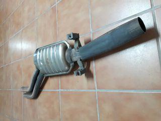 silenciador escape medio bmw e46 320ci