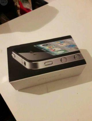 iPhone 4S LIBRE seminuevo todos accesorios
