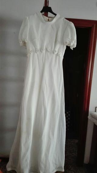 vestido novia vintage